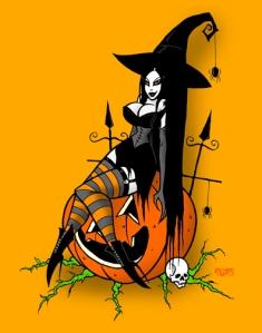 witch 12 x 18