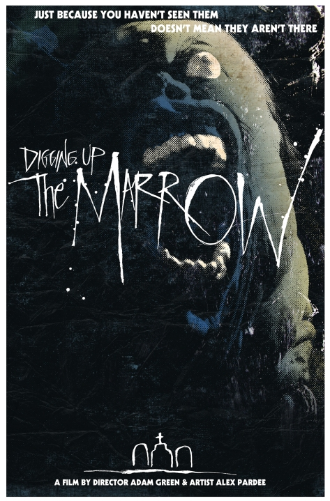 New poster artwork for Digging Up the Marrow