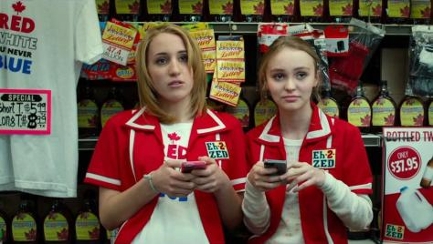 Harley Quinn Smith and Lily-Rose Melody Depp