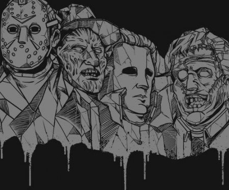 BigtimeTeez Unveils New Horror Design with the Mount Scaremore T-Shirt