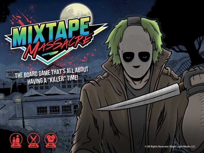 A Board Game For Horror Fans: Mixtape Massacre