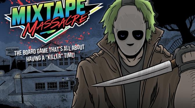 A Board Game For Horror Fans: Mixtape Massacre