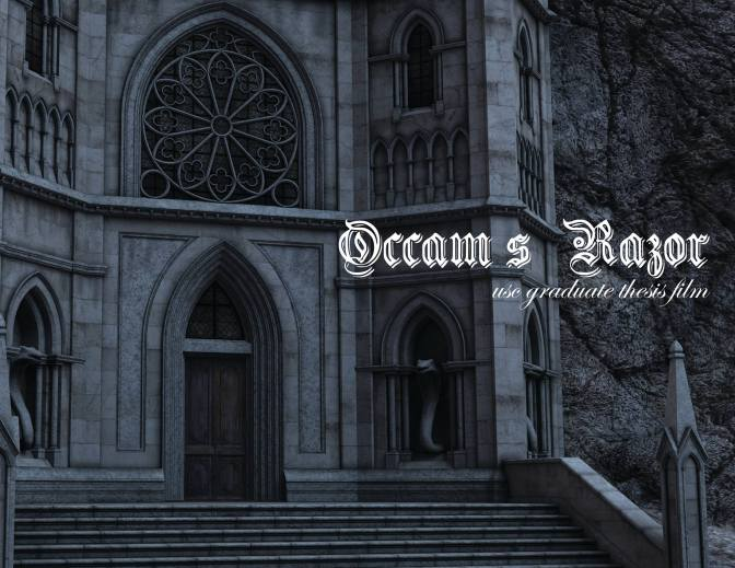 Kickstarter: Occam's Razor- A USC Thesis Film