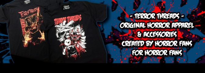 Terror Threads: Bringing You 100% Original Artwork