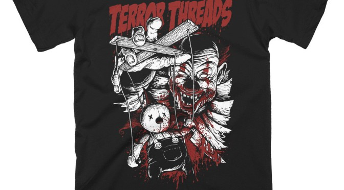 Clowning Around with Terror Threads (T-Shirt Review)