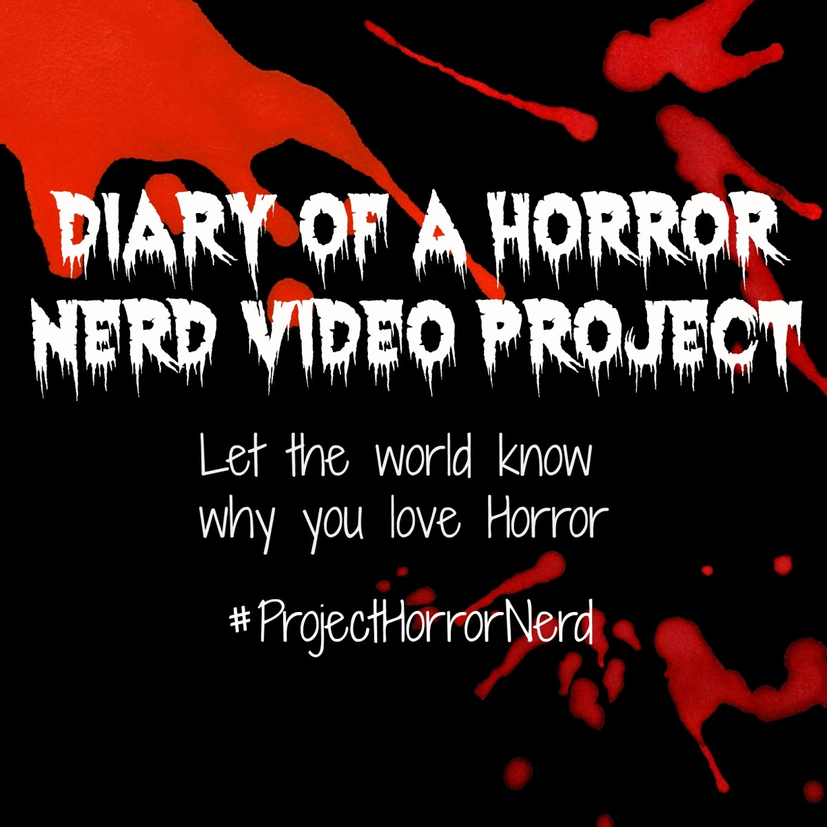 little blog of horror diary of a horror nerd video project